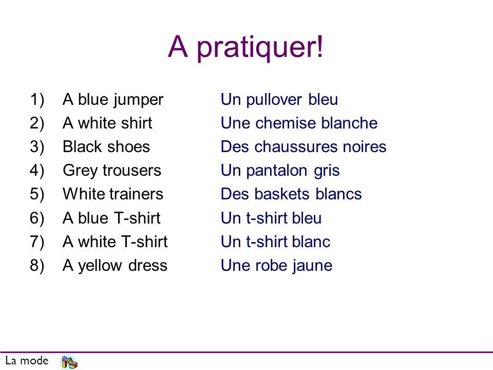 La mode Red Black White Yellow Purple Pink Orange Blue Green Brown Grey rouge rouges noir noirenoirsnoires blanc blanche blancs blanches jaune jaunes