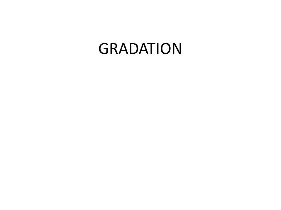 LA GRADATION : généralités DEFINITION : Opération conduisant à lobtention déléments de patronnage ou IB (Image de Base) dans des tailles supérieures ou inférieures au patron de base.