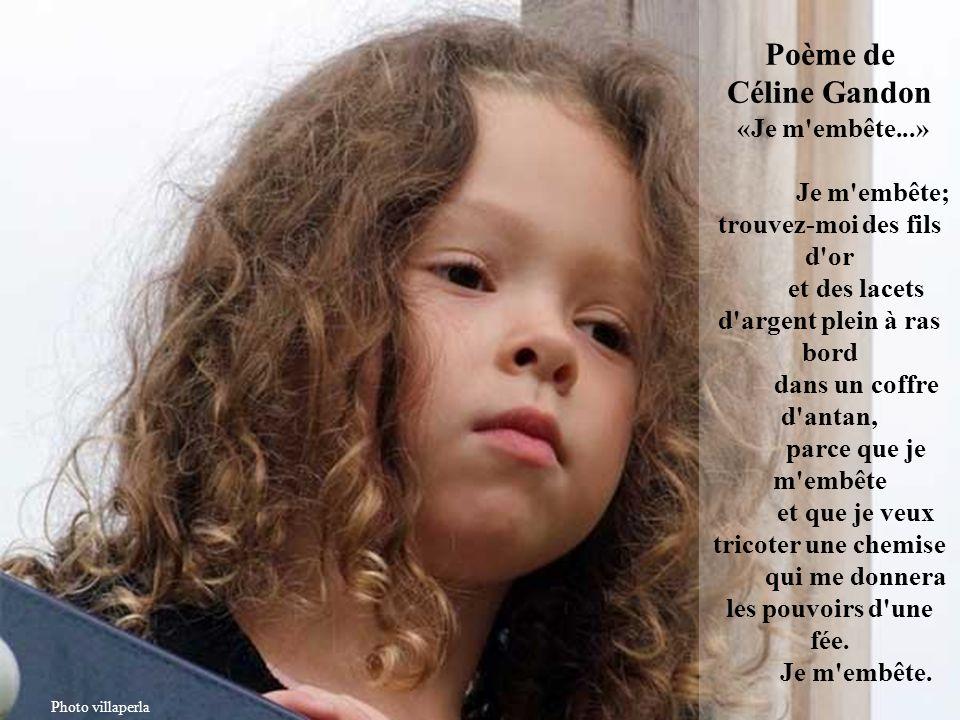 Poème de Jessica Jacquet «Je m'embête...» Je m'embête; montrez-moi une prairie avec des jonquilles au bord de l'eau, où la rivière arrose les boutons