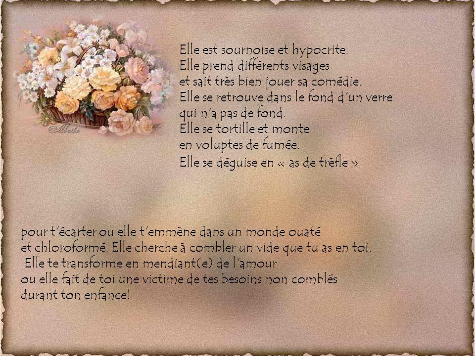 La Dépendance Auteure du texte : Jovette Mimeault Conception et Montage : Alberte S.C.©
