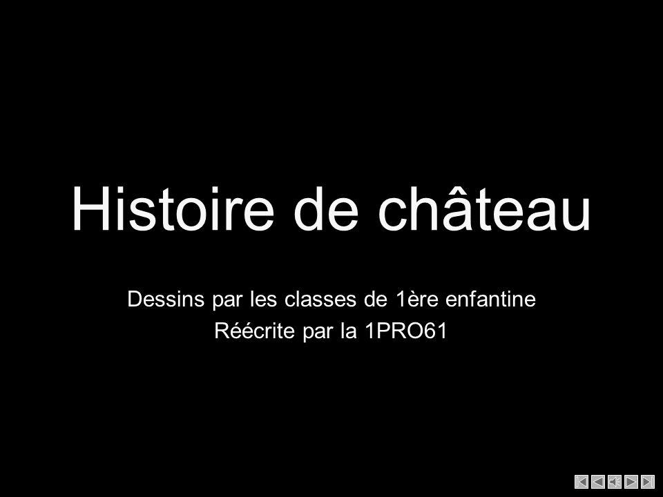 Histoire de château Dessins par les classes de 1ère enfantine Réécrite par la 1PRO61