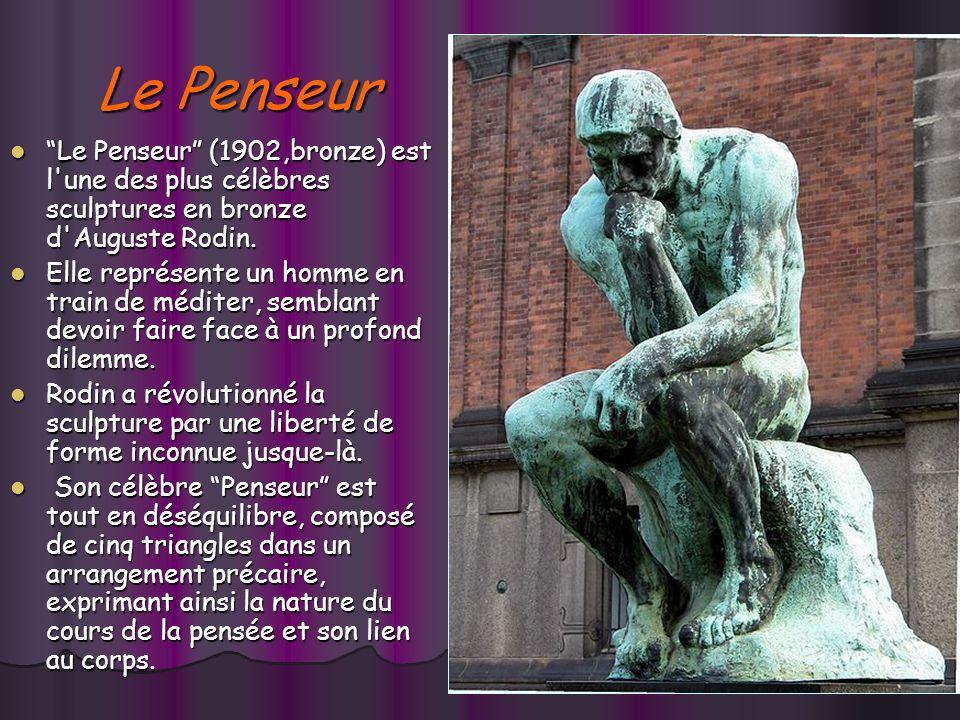Le baiser En 1886, Le Baiser ( marbre) représentait Paolo et Francesca, lun des groupes réalisés en relation avec La Porte de lEnfer. En 1886, Le Bais