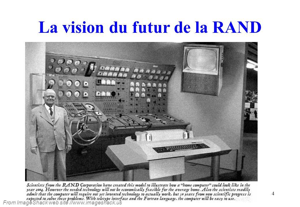 5 Eniac (1943) Une vue générale de l ENIAC, premier calculateur numérique au monde entièrement électronique.