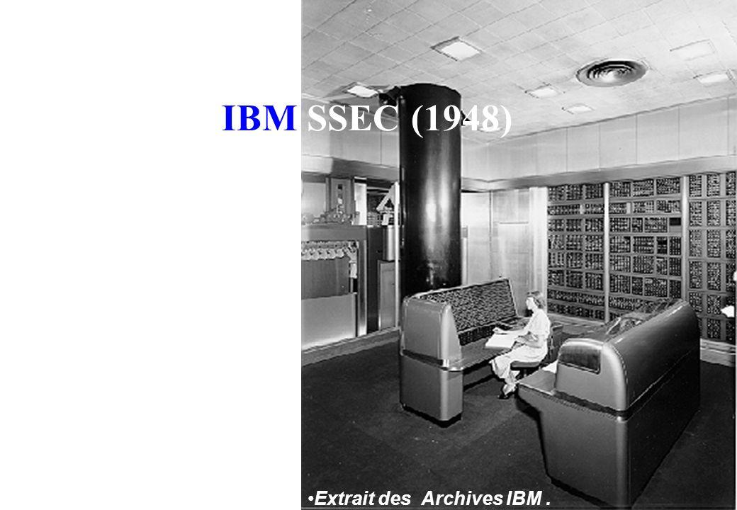 8 Stretch (1961) Une vision du panneau de contrôle de Stretch From IBM Archives.