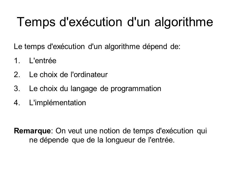 Problèmes calculables Une fonction (ou problème) est calculable si il est calculé par une machine de Turing On dit qu il est décidable s il s agit d un problème de décision (ou langage).