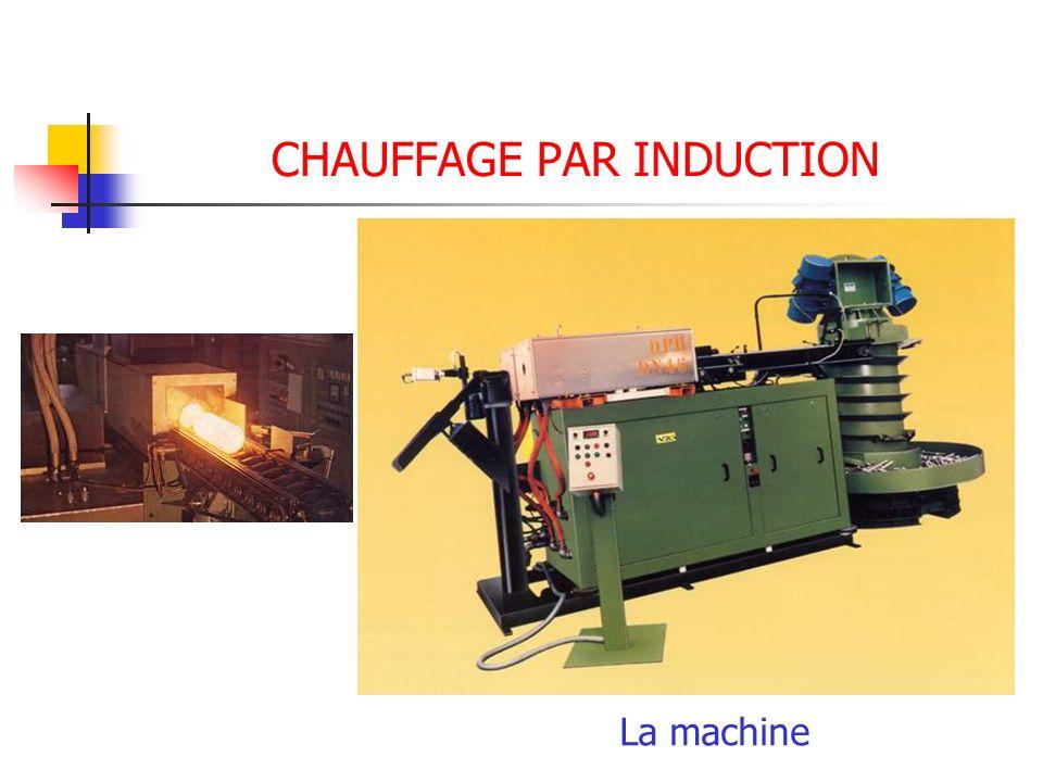 CHAUFFAGE PAR INDUCTION La machine
