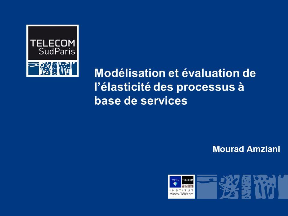 Institut Mines-Télécom Modélisation et évaluation de lélasticité des processus à base de services Mourad Amziani