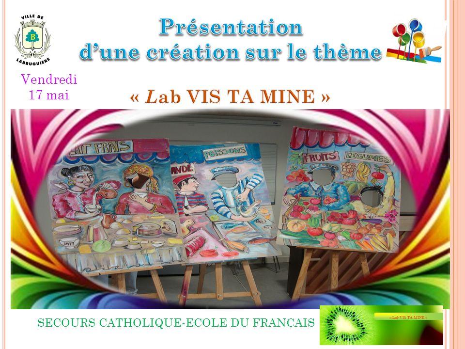 SECOURS CATHOLIQUE-ECOLE DU FRANCAIS Vendredi 17 mai