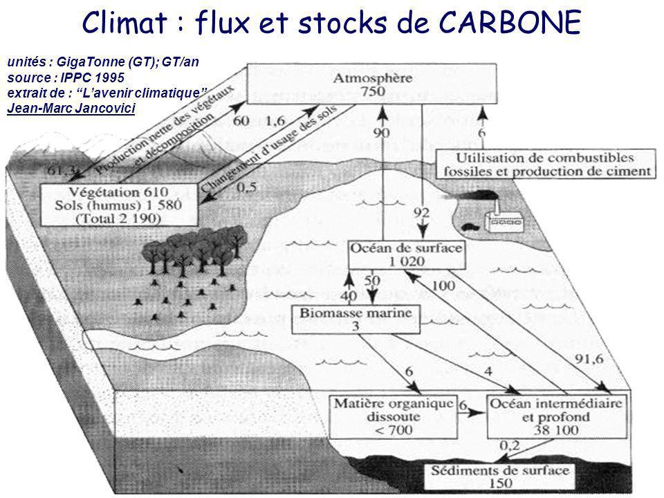 Soutenance Thèse Philippe Lemoisson - LIRMM – 15.12.2006 5 Biomasse marine Industrie Sols + Végétaux Océan profond Océan surface stocks carbone (océan surface) = 1020 GT stocks carbone (sols + végétaux) = 2190 GT stocks carbone (océan profond) = 30800 GT stocks carbone (atmosphère) = 750 GT Données Calculs Climat : flux et stocks de CARBONE n fragments 1 théorie .