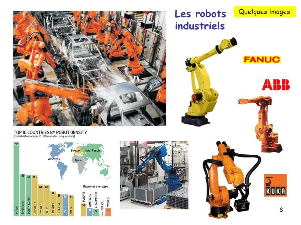 8 Les robots industriels Quelques images