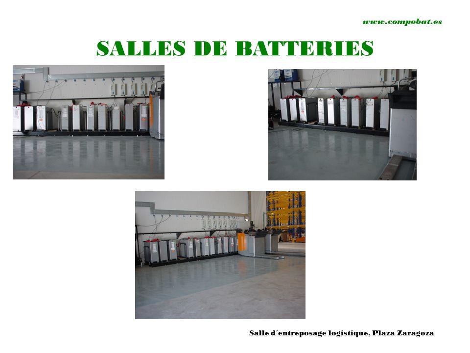 www.compobat.es SALLES DE BATTERIES Salle d´entreposage logistique, Plaza Zaragoza