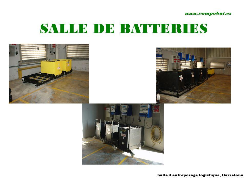 www.compobat.es SALLE DE BATTERIES Salle d´entreposage logistique, Barcelona