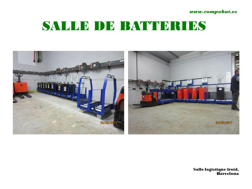 www.compobat.es SALLE DE BATTERIES Salle logistique froid, Barcelona