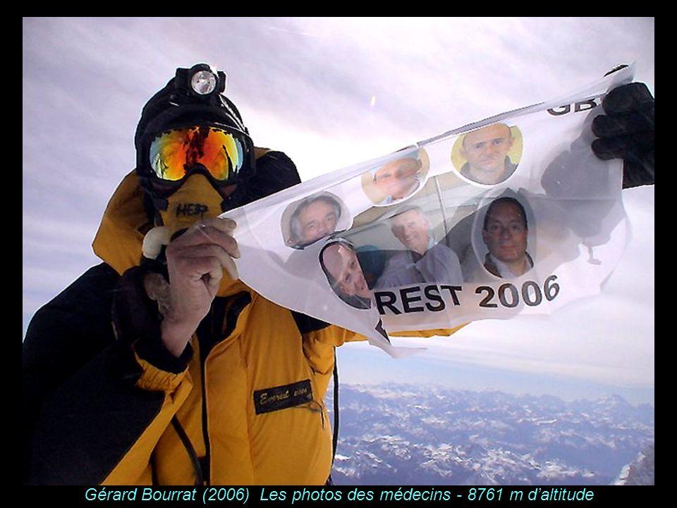 K A B U L Gérard Bourrat (2006) Les photos des médecins - 8761 m daltitude