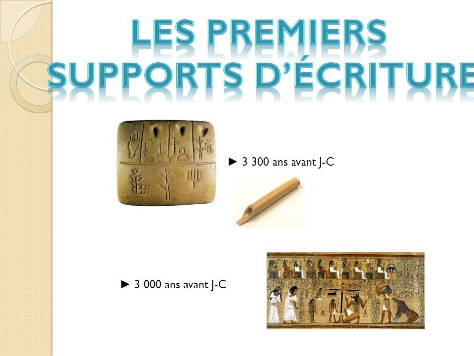 3 300 ans avant J-C 3 000 ans avant J-C