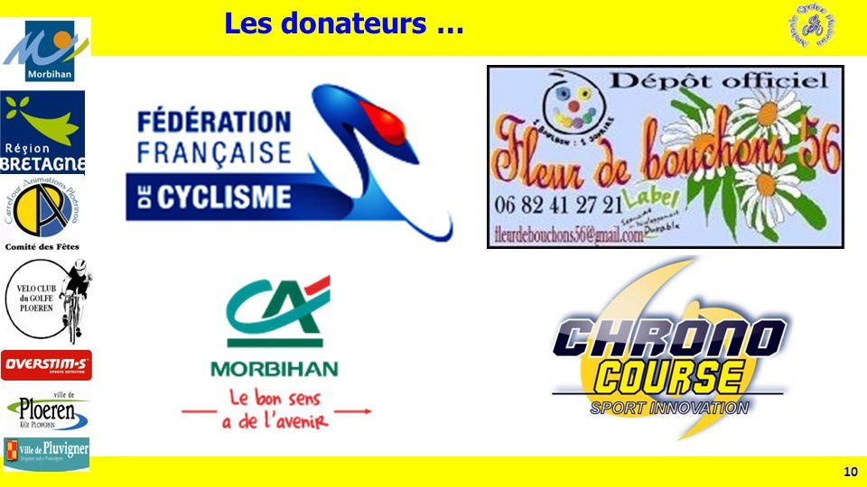 10 Les donateurs …
