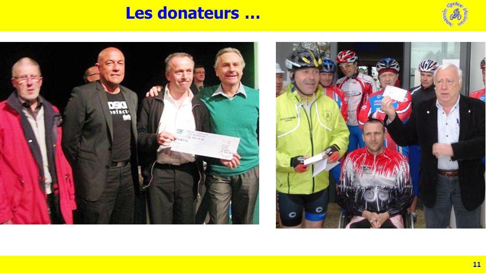 11 Les donateurs …