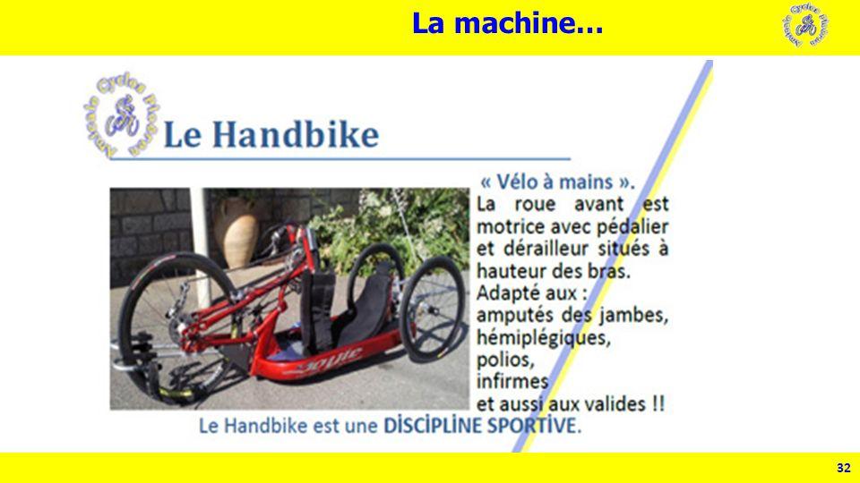 32 La machine…