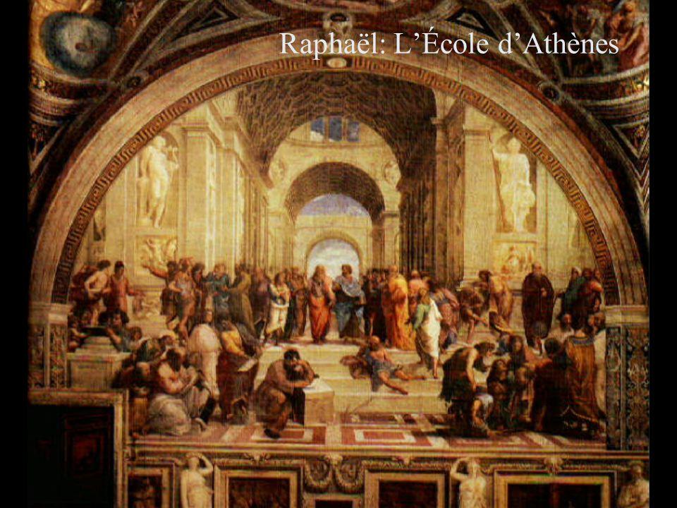 ) Raphaël: LÉcole dAthènes