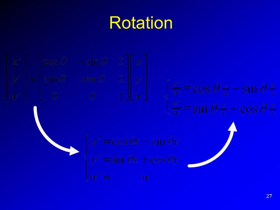 27 Rotation
