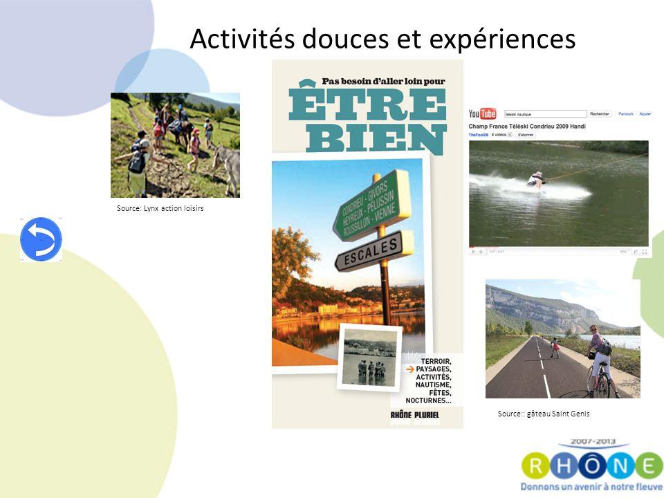 Activités douces et expériences Source: Lynx action loisirs Source:: gâteau Saint Genis