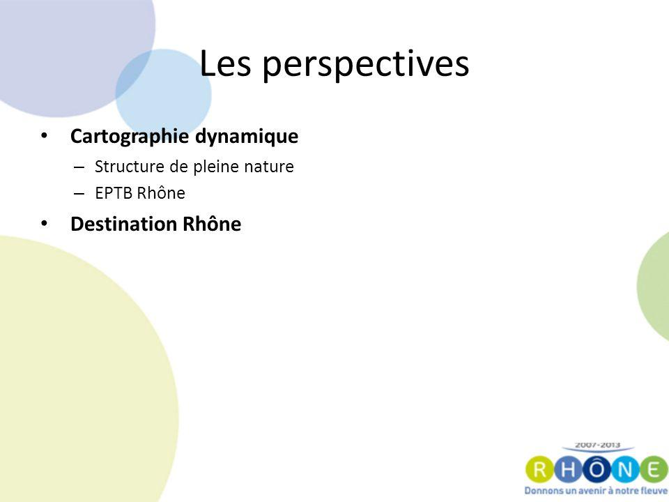 Cartographie dynamique – Structure de pleine nature – EPTB Rhône Destination Rhône