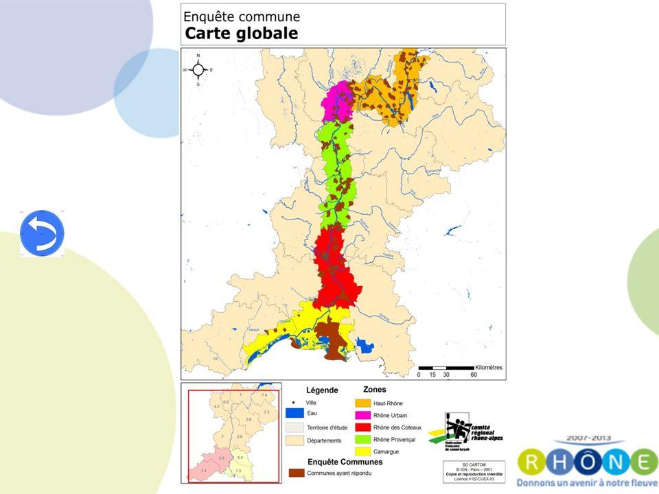 Les menaces Image et visibilité du Plan Rhône – Difficile dinstaurer une culture Rhône partagée Adéquation offre/demande – Manque dapproche globale des activités liées au fleuve Aménagement – Manque de coordination