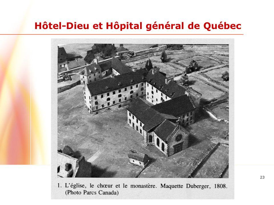 23 Hôtel-Dieu et Hôpital général de Québec