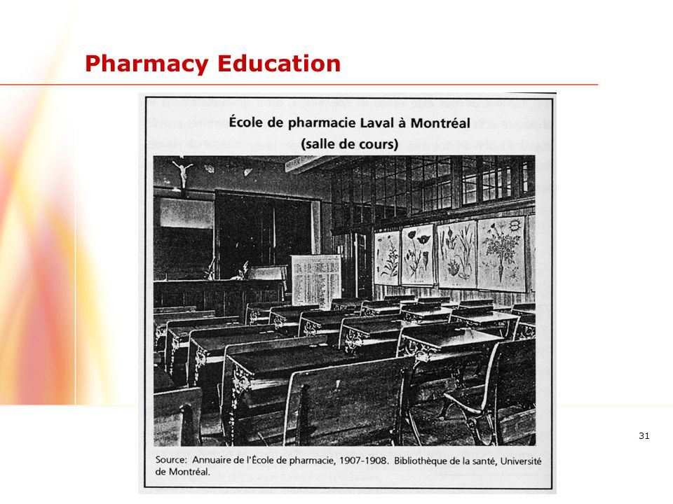 31 Pharmacy Education
