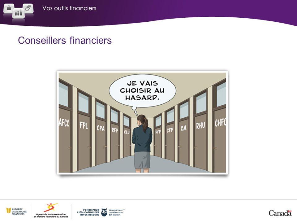 Conseillers financiers