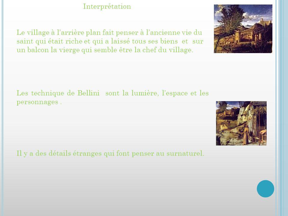 http://www.youtube.com/watch?v=z95X_ FDvJNo sources http://www.franceinter.fr/sites/default/fil es/imagecache/scald_image_max_size/201 1/08/10/124909/images/bellini.jpg http://www.google.fr/search?hl=fr&q=st+f rancois+dans+le+desert+&meta= http://www.google.fr/search?safe=vss&hl =fr&biw=1440&bih=677&tbm=isch&sa= 1&q=belini+giovanio&oq=belini+giovanio &gs_l=img.3...3110.6985.0.7329.9.9.0.0.0.