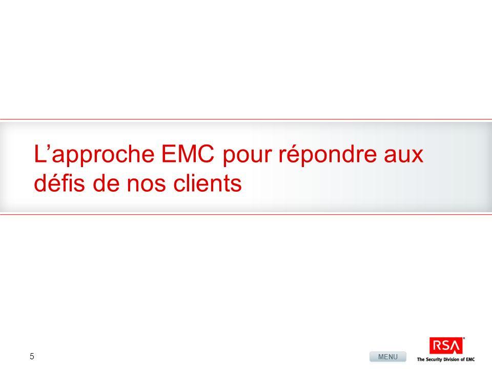 5 Lapproche EMC pour répondre aux défis de nos clients