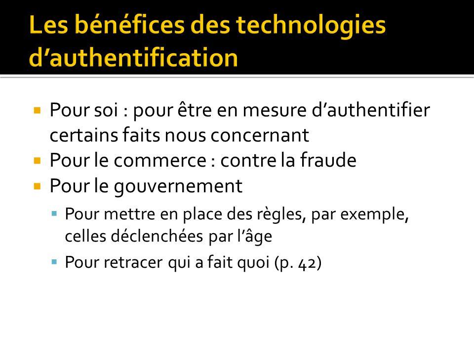 Dans le monde réel lanonymat doit être créé, dans Internet il constitue la situation de base, la valeur par défaut (p.