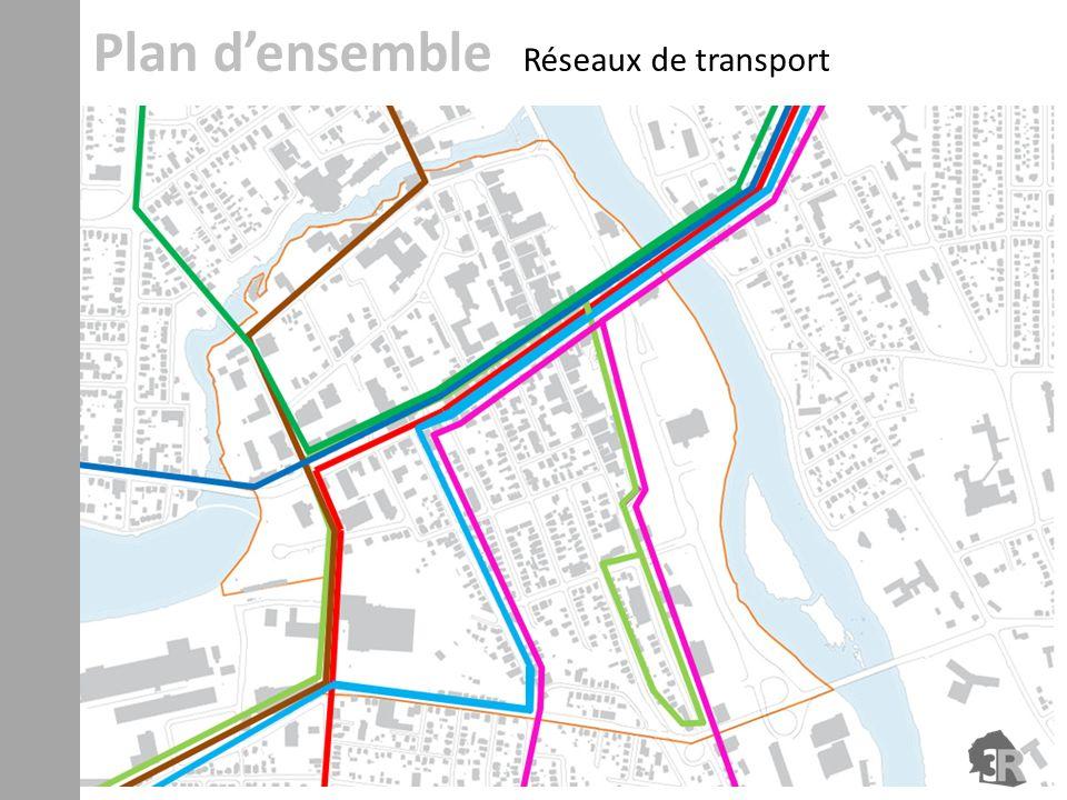 Plan densemble Réseaux de transport