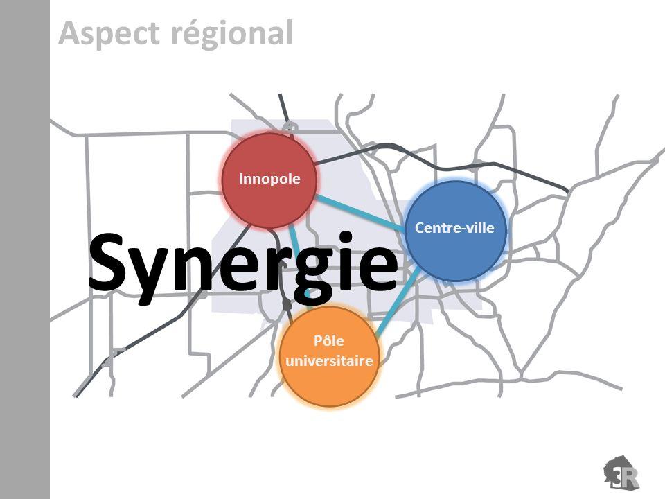 Synergie Pôle universitaire Innopole Aspect régional