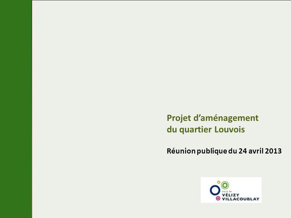 Projet daménagement du quartier Louvois Réunion publique du 24 avril 2013