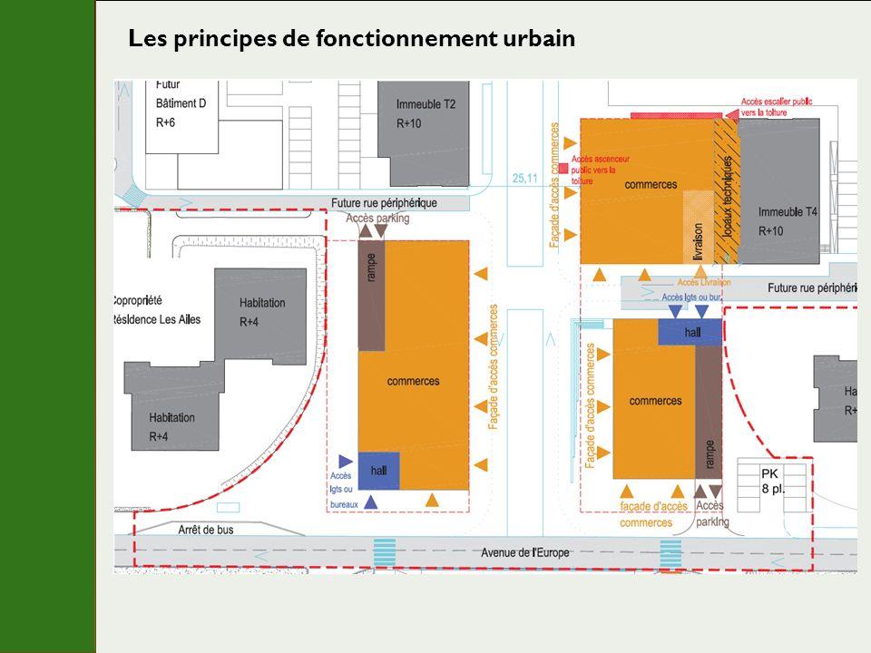 Les principes de fonctionnement urbain