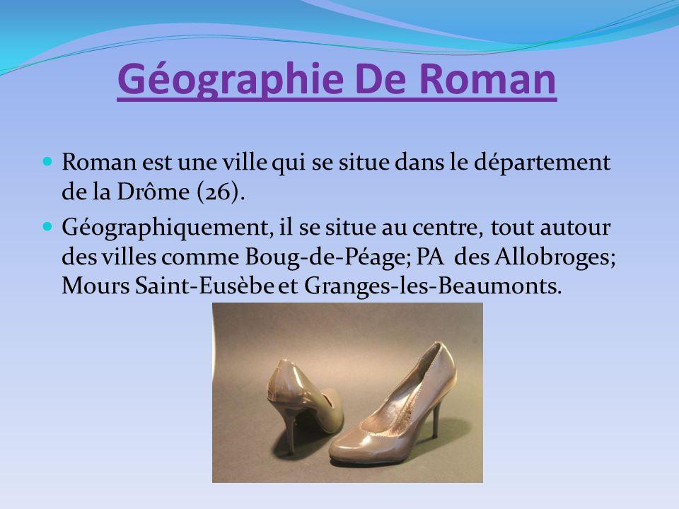 Géographie De Roman Roman est une ville qui se situe dans le département de la Drôme (26). Géographiquement, il se situe au centre, tout autour des vi