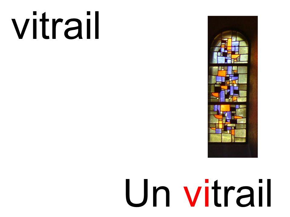 vitrail Un vitrail