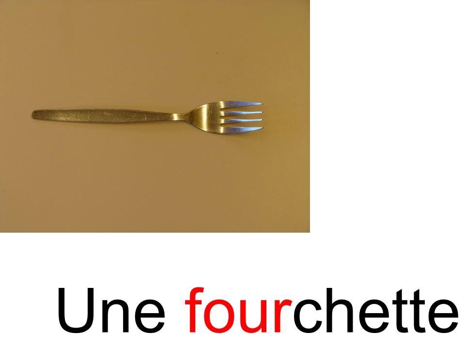 fourchette Une fourchette