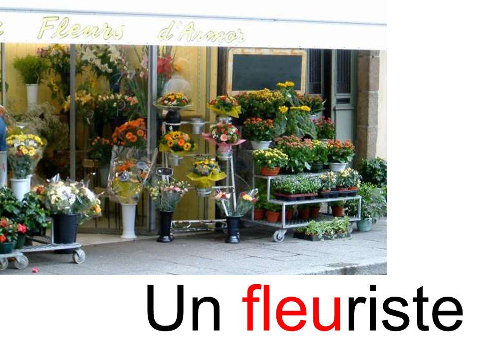 fleuriste Un fleuriste