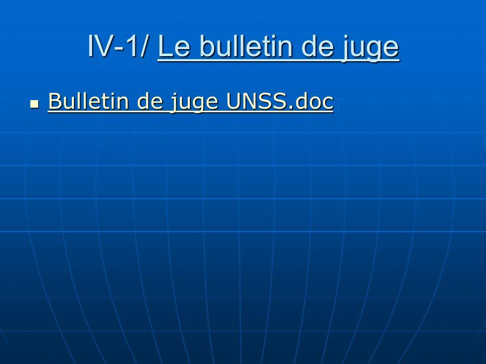 IV-1/ Le bulletin de juge Bulletin de juge UNSS.doc Bulletin de juge UNSS.doc Bulletin de juge UNSS.doc Bulletin de juge UNSS.doc