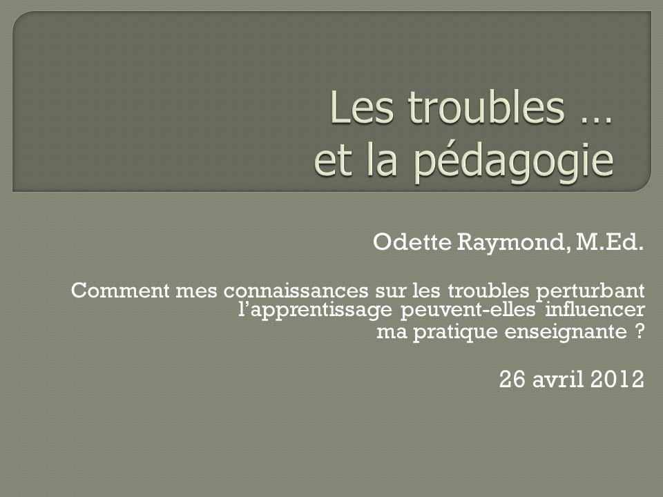 Odette Raymond, M.Ed.