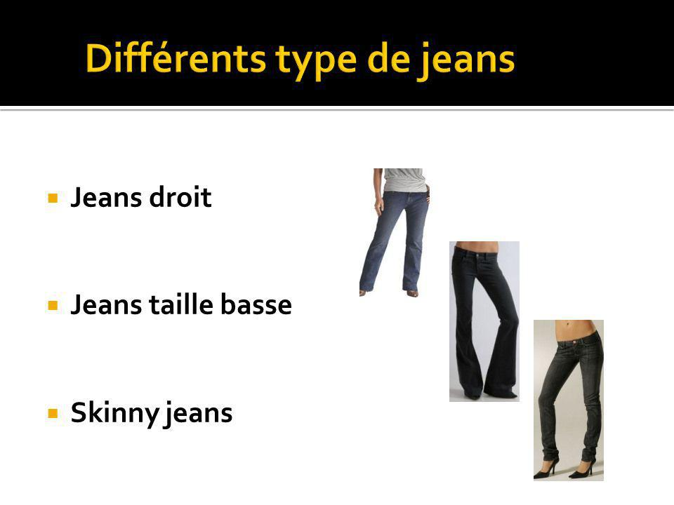 Jeans droit Jeans taille basse Skinny jeans