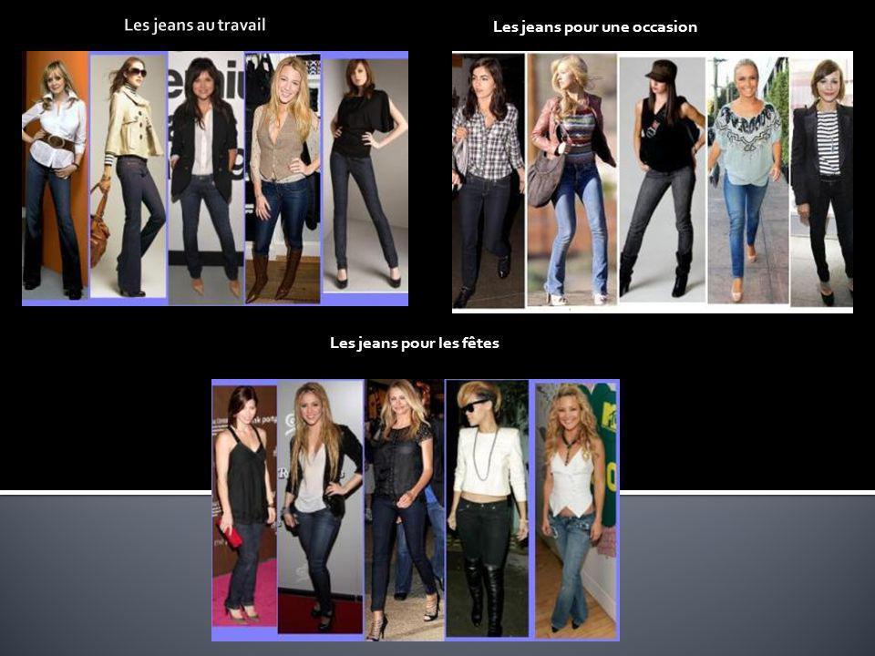 Les jeans pour une occasion Les jeans pour les fêtes