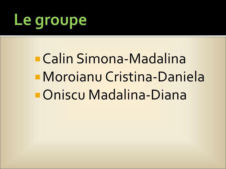 Calin Simona-Madalina Moroianu Cristina-Daniela Oniscu Madalina-Diana