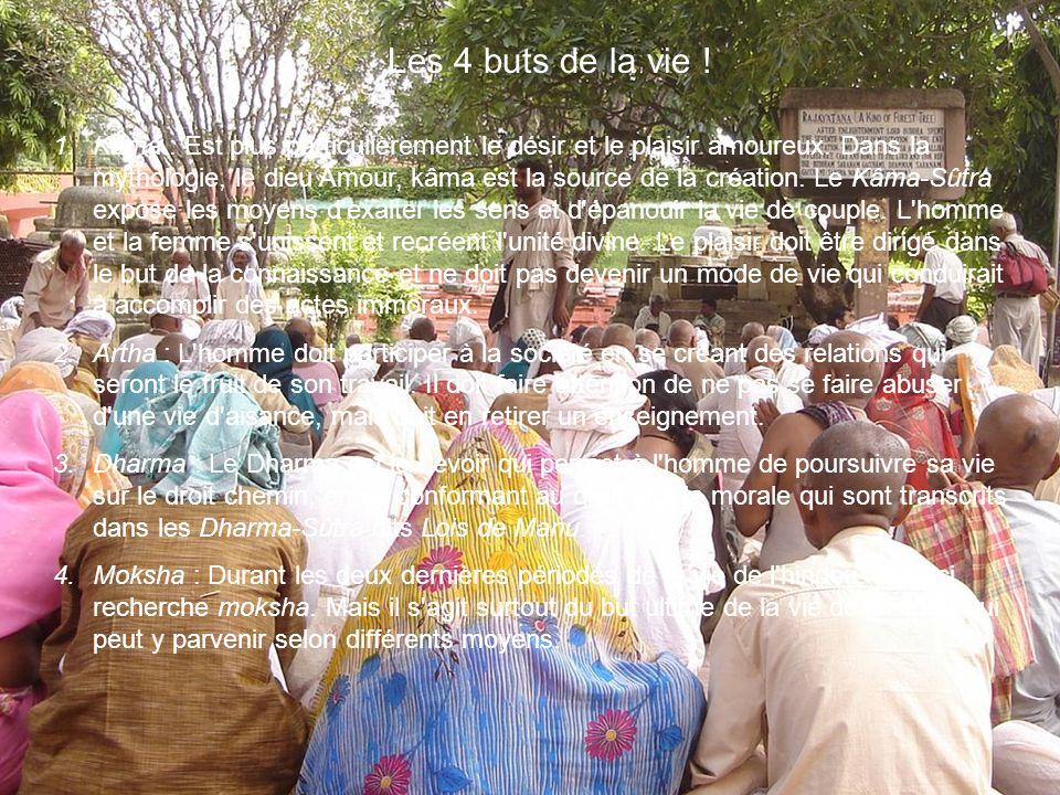 1.Le Brâhmâcarya est la période de la vie de l éducation.