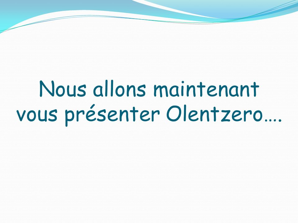 Nous allons maintenant vous présenter Olentzero….