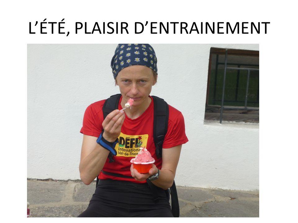 LÉTÉ, PLAISIR DENTRAINEMENT