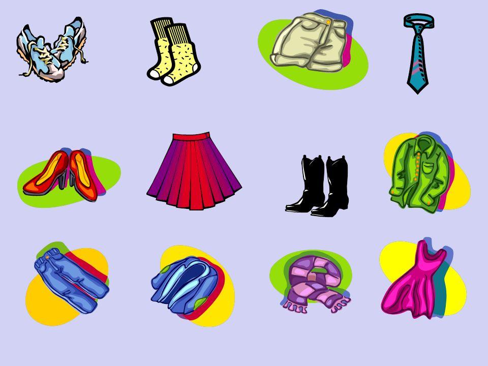 En Francais, les couleurs viennent après les vêtements In French, the colours come after the clothes Eg/ Une jupe rouge A red dress Eg/ Some black boots Des bottes noires